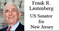 Frank R. Lautenberg, US Senator for New Jersey