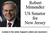 Robert Menendez, US Senator for New Jersey